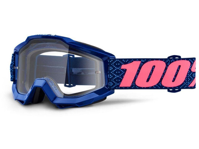 100% Accuri Anti Fog Clear Goggles futura